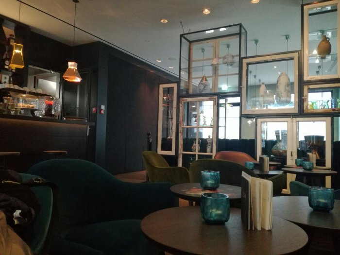 Lounge Motel One Amsterdam