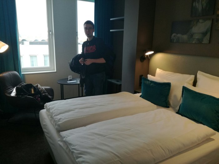 Zimmer Motel One Amsterdam