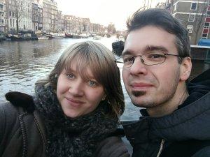 PiusLucius und Davor in Amsterdam